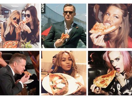 Cómo comer pizza como una celebrity... sin remordimientos!