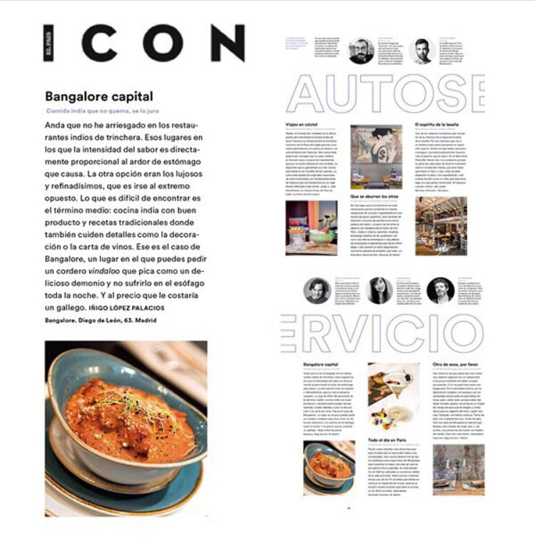 Bangolare capital en la revista Icon