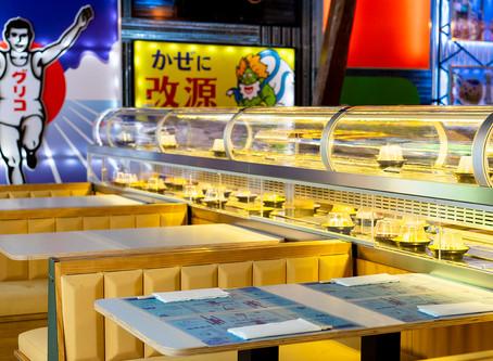 Running Sushi in Osaka, nuevo Kaiten Sushi en Madrid bueno, bonito, barato y ¡seguro!