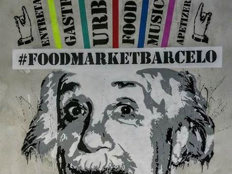 Food Market Barceló, el nuevo espacio gastro del Mercado Barceló, apuesta por el arte