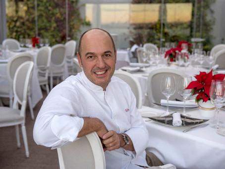 El chef Íñigo Urrechu, Premio Club de Gourmets 2018