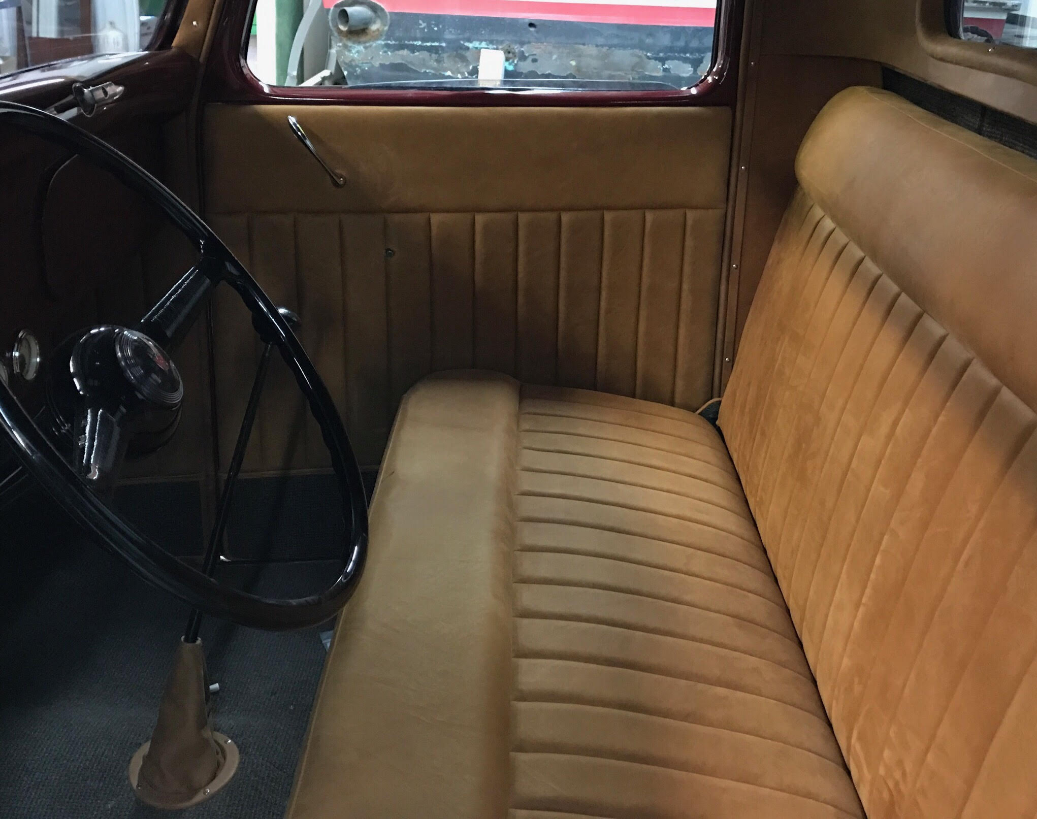 35' Ford Truck Interior