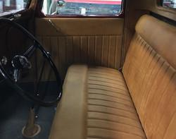 35' Ford Truck Interior