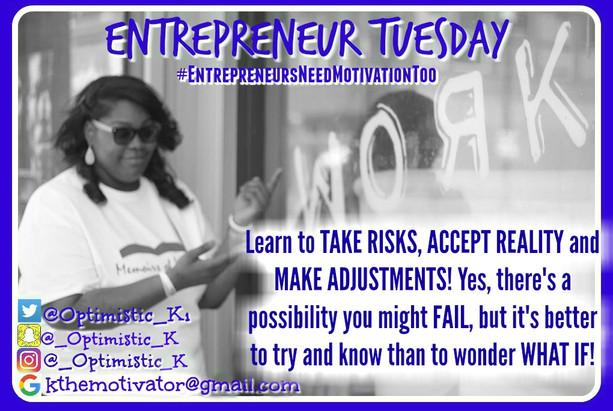 Entrepreneur Tuesday
