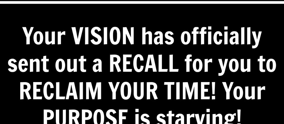 Motivational Monday: Reclaim YOUR TIME!