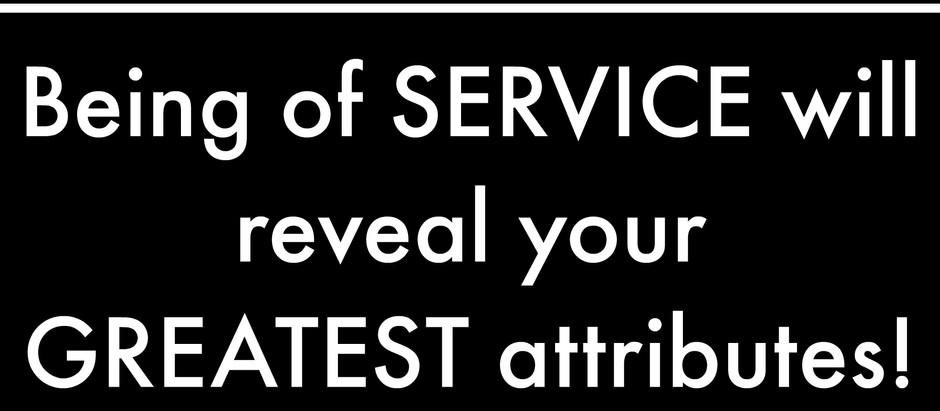 Motivational Monday: Be of Service!