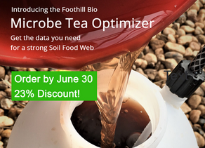 Check out our new system for optimizing your microbe tea!