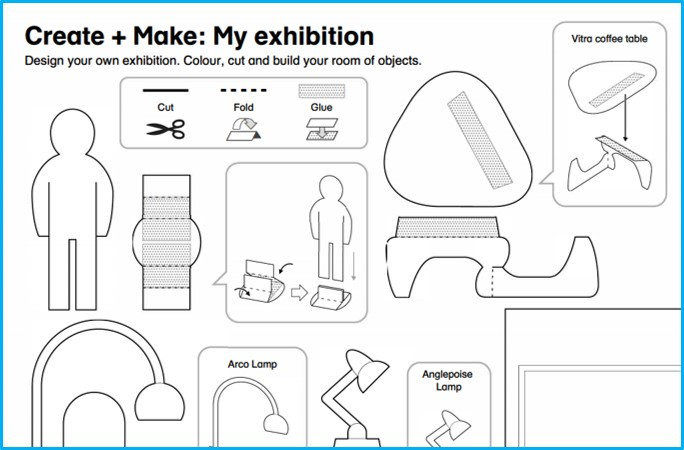 Make your own exhibition worksheet