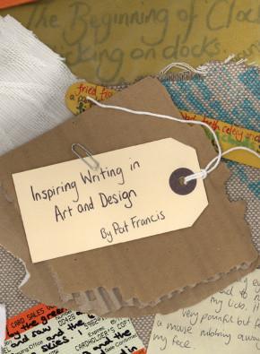 Inspiring writing in art & design book cover