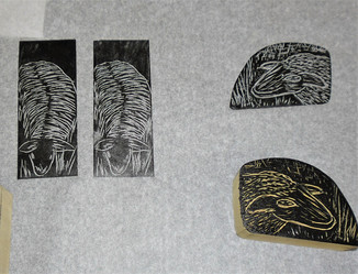 Jacqueline Jeynes- wood engraving - shee