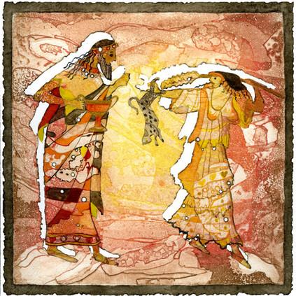 Faith Flower, Bacchus and maeniad.jpeg