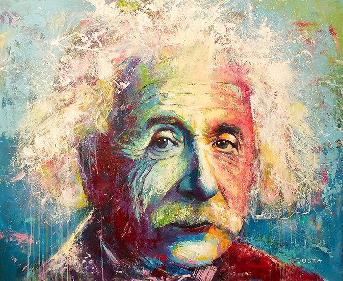 The Irresistible Smile Of Albert Einstein