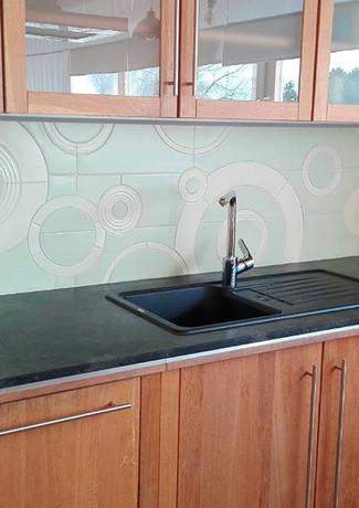 Küchenverfliesung