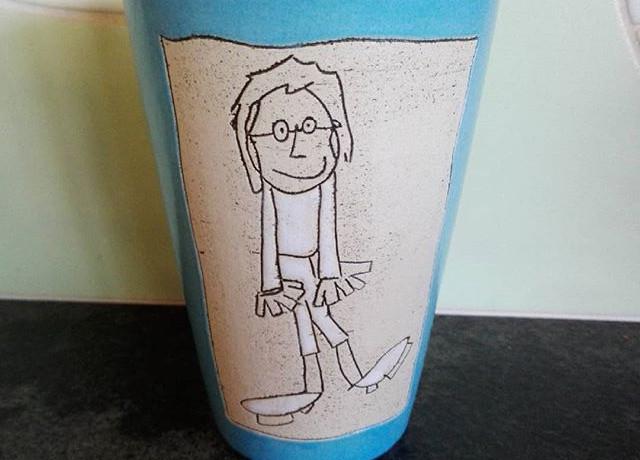 Keramik Trinkbecher Edition Nils