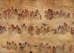 五百罗汉朝毘卢壁画之三.jpg