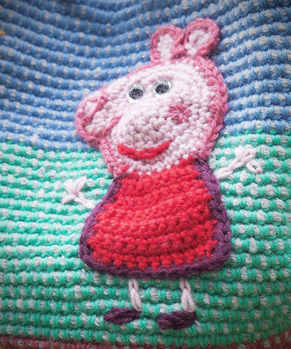Los Amigus de Paloma: Peppa Pig Amigurumi (Patrón Gratis) | 1201x1000