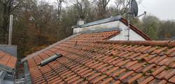 Dachfläche vor  der Sanierung