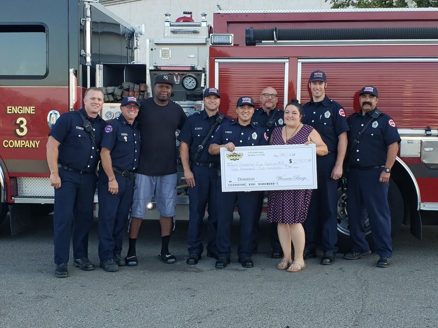 Fire Company 3 Donation