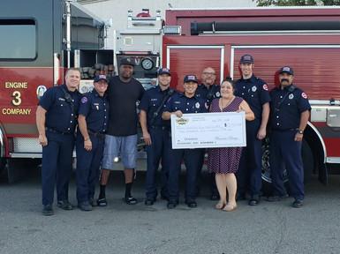 Fire Company 3 Donation