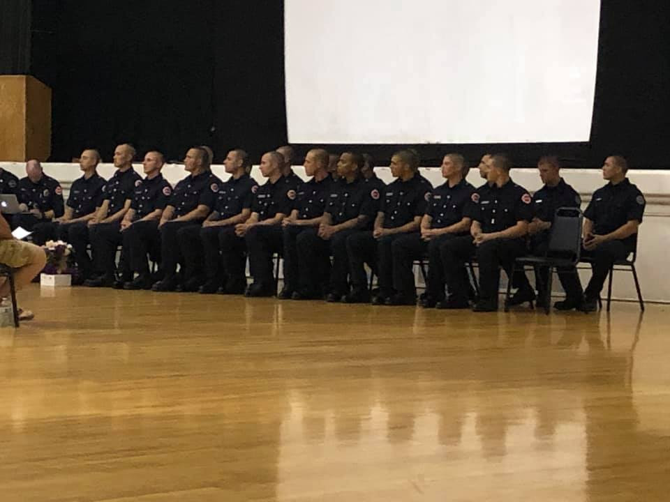 Stockton Regional Fire Academy Winter Graduation