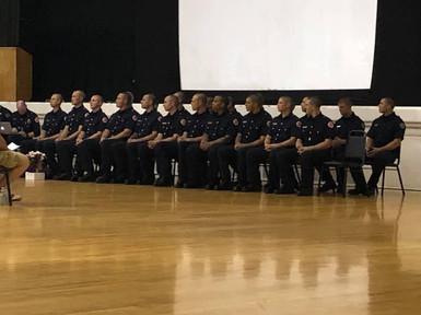 Stockton Regional Fire Academy Winter Graduation