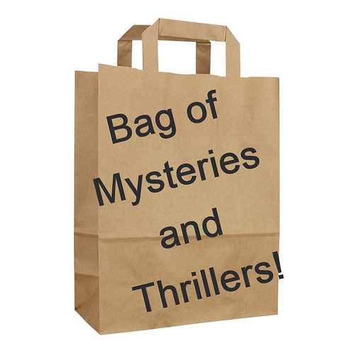 Mixed bag of Mystery and Thriller titles, hardcover and paperback!