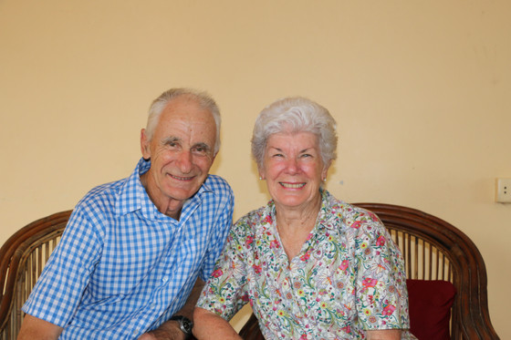 Dave and Maree Shearer - Friends from Graceville, Brisbane - their Ninth visit!