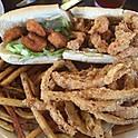1/2 and 1/2 Seafood Po Boy