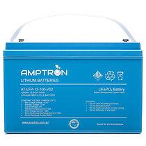 amptron lithium 12v battery