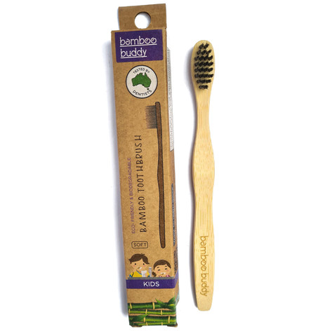 Bamboo Buddy Kids Toothbrush
