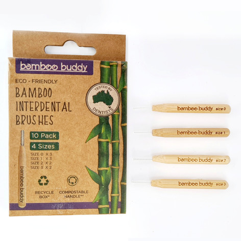 bamboo buddy interdental brushes