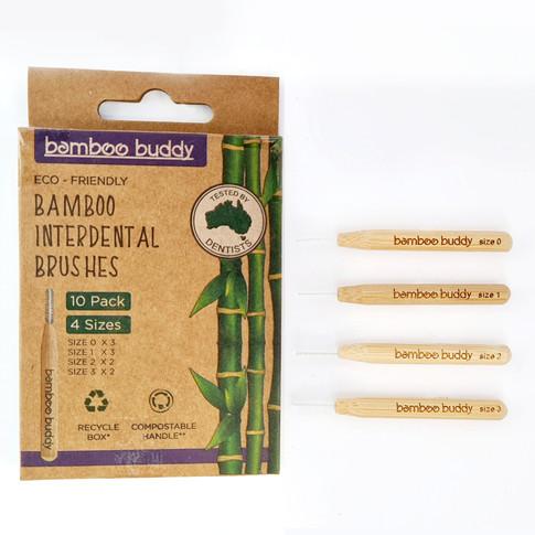 bamboo buddy interdental brushes