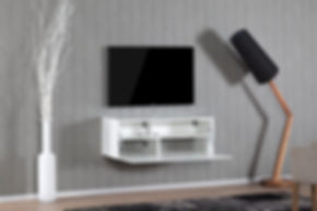 Sonorous Tv bord - Studio 110F Hvid
