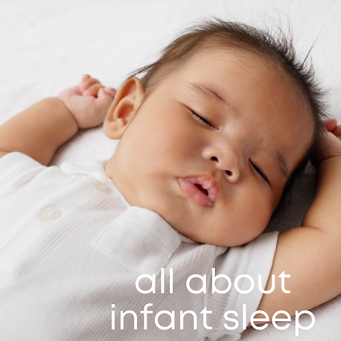 All About Infant Sleep