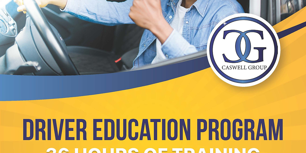 September 11-12 & 18-19, Teen Driver Education Course - 30 Hours/Saturday and Sunday (2 Weekends)