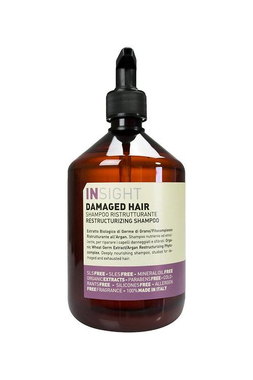 Insight Damaged Hair Restructurizing yıpranmış saçlar için Onarıcı Şampuan 900ml