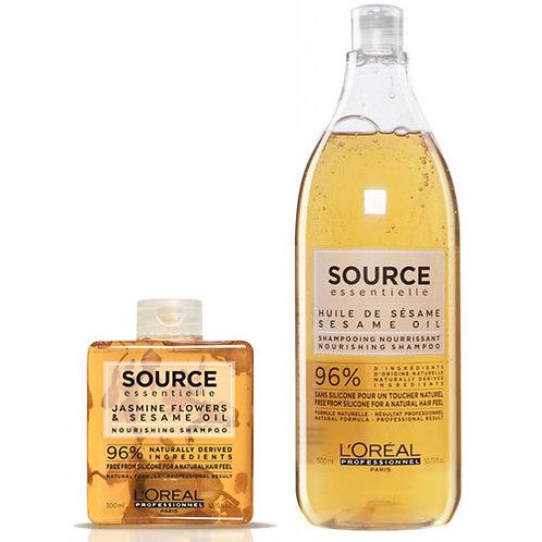 Loreal Source Essentielle Kuru ve Hassas Saçlar İçin Besleyici Şampuan 1500ml