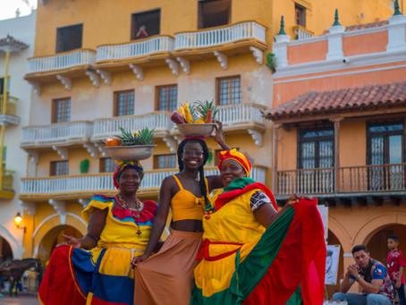 Vibrant Cartagena, Colombia