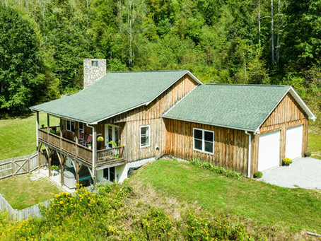 70+ acre estate located just Northwest of Asheville!!