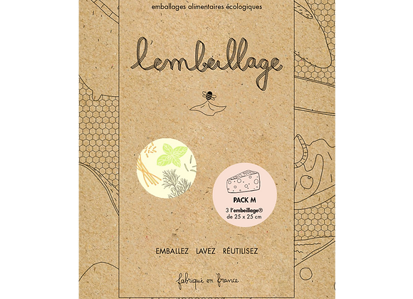 Pack M - emballage alimentaire
