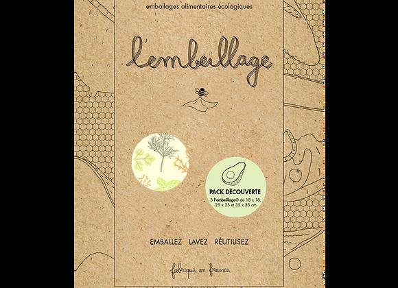 Pack découverte 3 formats - emballage alimentaire
