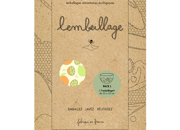 Pack L - emballage alimentaire