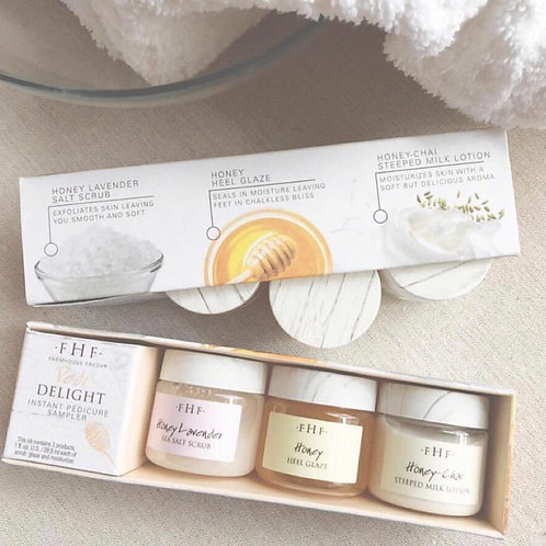 3-Step Honey-Packed Delight