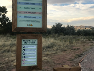 Many new Improvements to the Wyoming Fly Caster Memorial access.