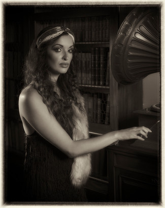 'Music Hall Flapper Girl' by Oliver Molloy - Accepted