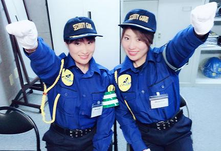 アスコム 警備 女性 セキュリティ 写真