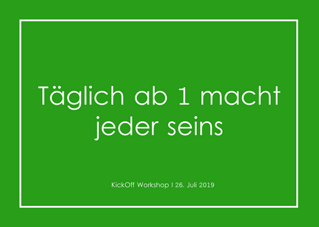 Microsoft 2019 I Team Grün