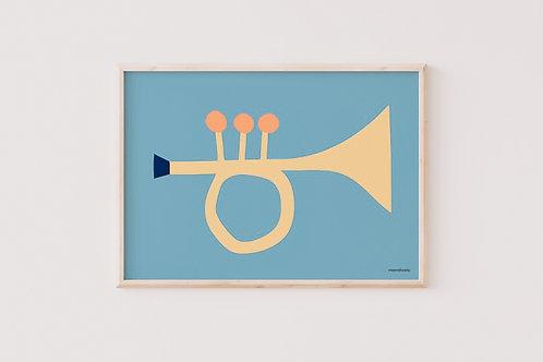 Poster Trumpet