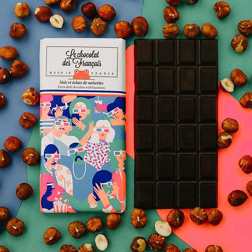 Le chocolat des Français - Haselnusschips