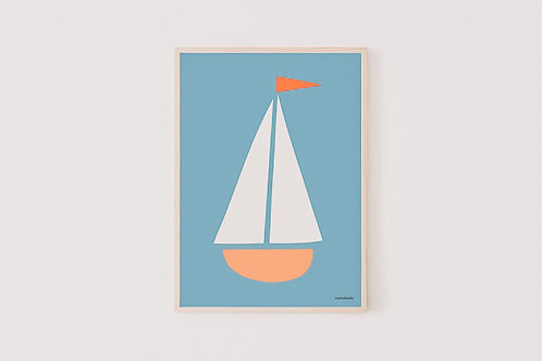 Poster Boat